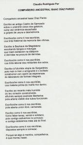 texte isaac claudio