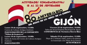 INVITACIÓN 80º ANIVERSARIO NIÑOS DE LA GUERRA GIJÓN