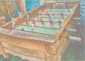Antiguo Futbolín